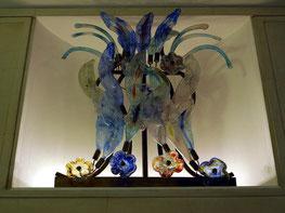 Glaskunst im Treppenhaus