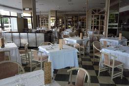 Restaurant im Untergeschoss