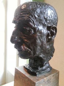 Bronzebüste von Max Liebermann