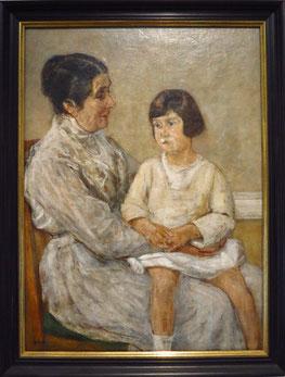 Martha Liebermann und Enkelin