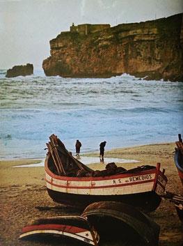 NAZARÉ, Kliff (Aufnahme 1967)
