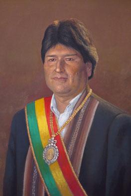 Evo Morales, seit 2006 Präsident Boliviens