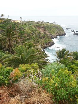 Küstenlandschaft unterhalb Mirador San Pedro