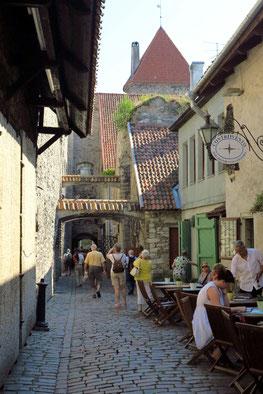 Mittelalterliche Katharinengasse