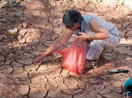 Récolte d'argile (Maroc)
