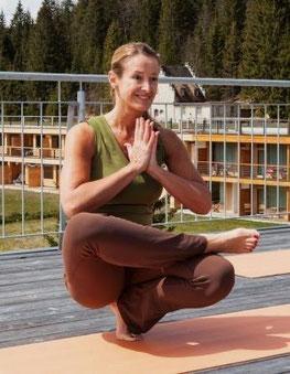 Yoga & Joggen Event . Mai 2012 im Das Kranzbach