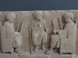 Rom, Kapitolin. Museum: Schüler und Lehrer