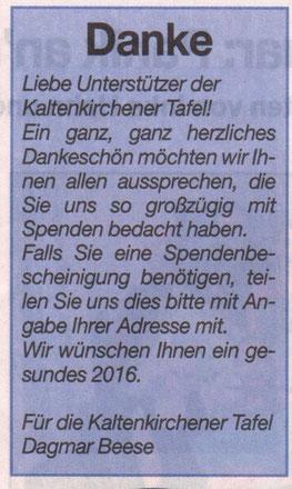 Umschau 27.01.2016