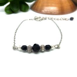 Bracelet bohème SOLAL perles Manoléo Fantaisies fait main bassin d'arcachon