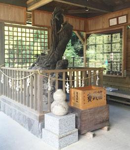 岐阜県、洞戸の高賀の霊水の神様