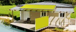 Terrasse optimal mit Sonnenschutz gestalten Büschking