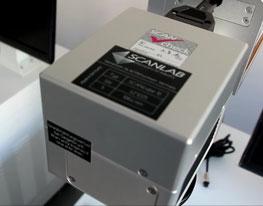 Scanlab, galvanometer, metal, marking, barch laser,