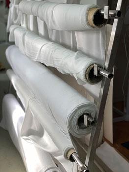 Stoffe für den  Textildruck bei Feld Textil GmbH in Krefeld