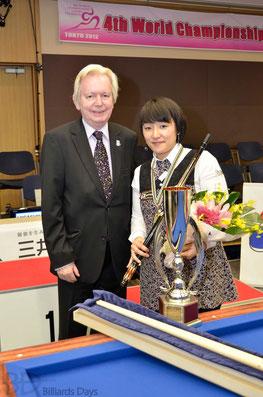 UMB会長デュポンさんと東内プロ