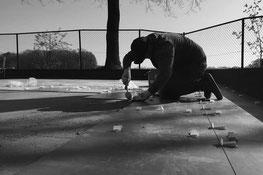 Van Krieken straat- en sloopwerken terras aanleg