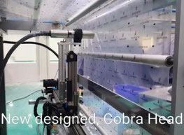 linear robotic arm in packing industry