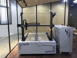 xyz axis robot inspection machine
