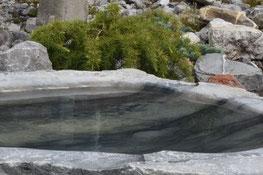 Brunnen aus Blauseekalkstein
