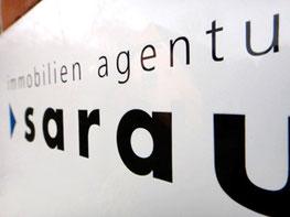 Logo immobilien agentur sarau