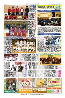 スポーツコム・ガンバ157号3面