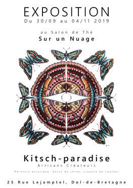 #kp #kitschparadise #kitsch #paradise #artisans #artisan #créateur #createurfrancais #creative #creation #artisanatfrancais #nature #naturelovers  #bretagne #cotedarmor #art #bijoux #macramé #peinture #acrylique #encredechine #doldebretagne