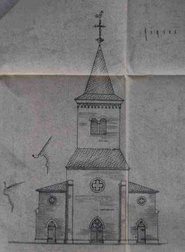Der Turm im Jahre 1961
