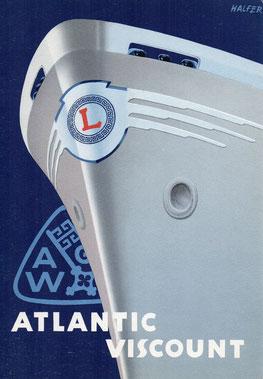 Stapellaufgedicht Atlantic Viscount