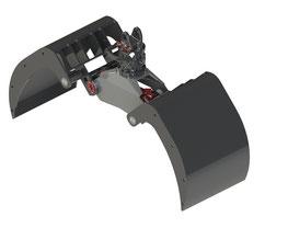 Zweischalengreifer FCB 425 DS inkl. Rotator