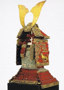 国宝 赤糸威大鎧(竹虎雀餝)