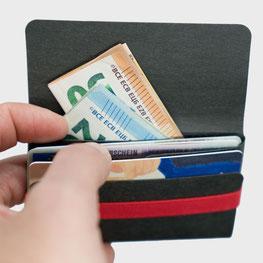 Kartenhalter Visitenkartenhalter für Karten Scheine aus Berlin