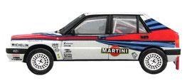vettura da rally lanci delta 8v integrale hf grafica completa di pubblimais a torino