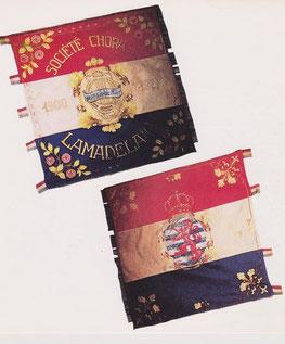 Fahne des Cäciliengesangvereins