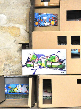 Thumbnail-Link for project: maison de graffiti exhibition