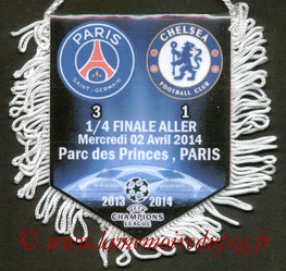 Fanion  PSG-Chelsea  2013-14