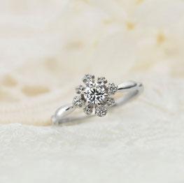 婚約指輪、エンゲージリング、ヴィヴァ―ジュ4