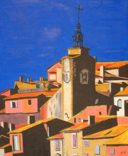 534 - Roussillon - soleil levant, 2015