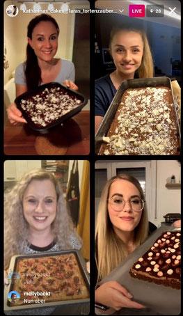 Brownies mit Lara, Jasmina und Lisa, 05.06.2021
