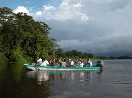 Transportation from Tortuguero to Arenal