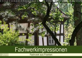 Kalender Fachwerk impressionen Franken