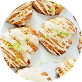 Bild: Eierlikör Cookies – mit diesem Rezept leckere Kekse mit Eierlikör backen, perfekt für den Frühling, Ostern oder als Geschenk aus der Küche // Rezept & Anleitung gefunden auf www.partystories.de // #Eierlikör #Kekse #backen #Cookies #Frühling #Ostern