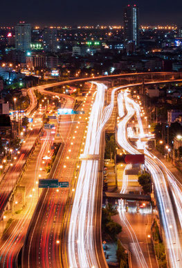 Expressways / Toll Roads, Bangkok