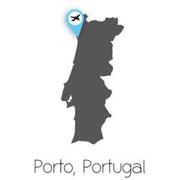 Porto Portugal, Map, Porto Map, Porto European Best Destination 2012,
