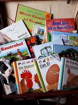 Buchempfehlungen Bauernhof im Koffer