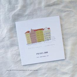 プラハ2009旅のスケッチ