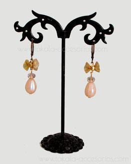 aros dorados, aros novia, aros colgantes, aros perlas, aros cristal, aros metal, aros novia Villa Urquiza.