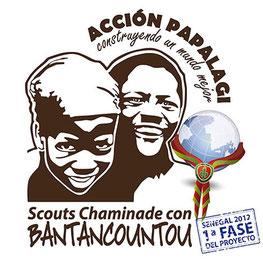 Acción Papalagi 2012 BANTANCOUNTOU - Grupo Scout Chaminade de Cádiz colabora