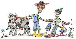 Einkauf beim Biobauern hilft der Umwelt