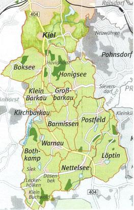 Dörfer des LFV Kirchbarkau u. Umgebung