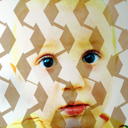 Antoine enfant, collage de Rythmes, 2012
