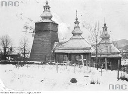 Maciejowa. Drewniana cerkiew Opieki Bogarodzicy